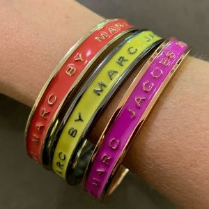 Marc by Marc Jacobs Bangles Lot of 3
